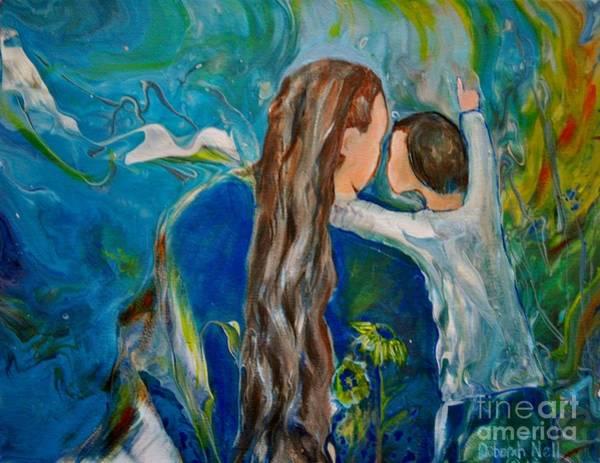 Painting - Full Of Wonder by Deborah Nell