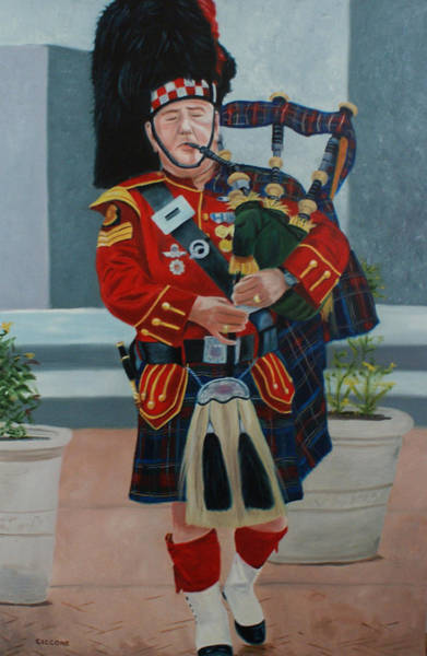 Painting - Full Regalia by Jill Ciccone Pike