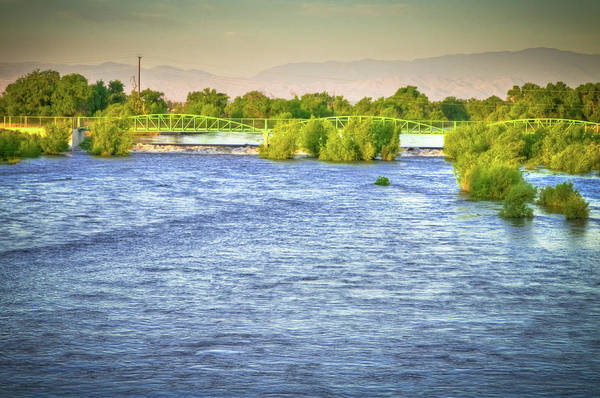 Wall Art - Photograph - Full River by Connie Cooper-Edwards
