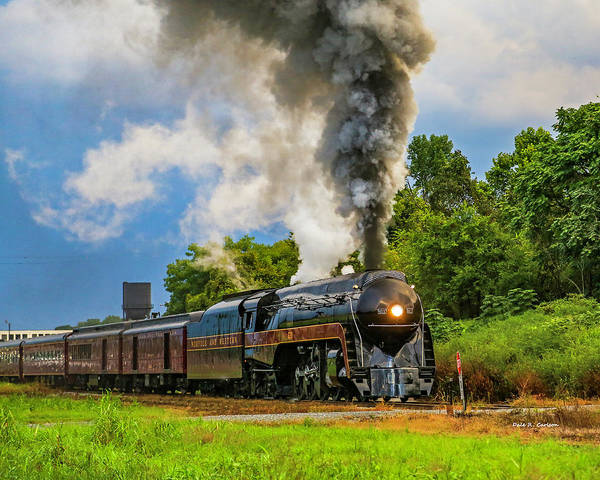 Photograph - Full Steam 611 by Dale R Carlson