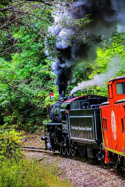 Photograph - Full Steam No. 1702 by Dale R Carlson