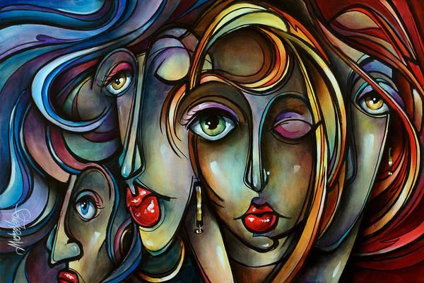 Wall Art - Painting - Full Tilt by Michael Lang