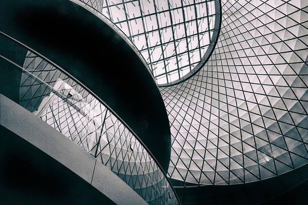 Skylights Wall Art - Photograph - Fulton Station Abstract by Jessica Jenney