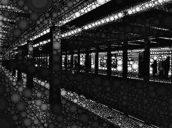 Photograph - Fulton Street Station by Susan Maxwell Schmidt