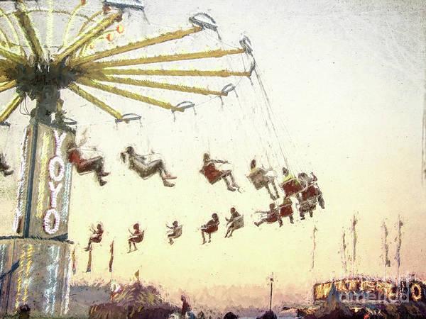 Photograph - Fun Fair by Andrea Anderegg