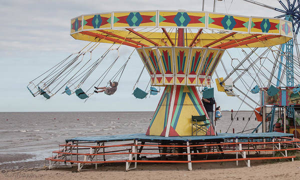 Photograph - Fun Fair Swing by Beverly Cash