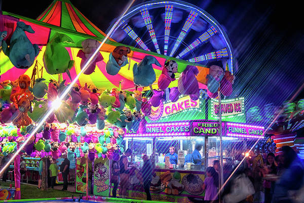 Wall Art - Photograph - Fun Fun And Funnel Cakes by Marnie Patchett