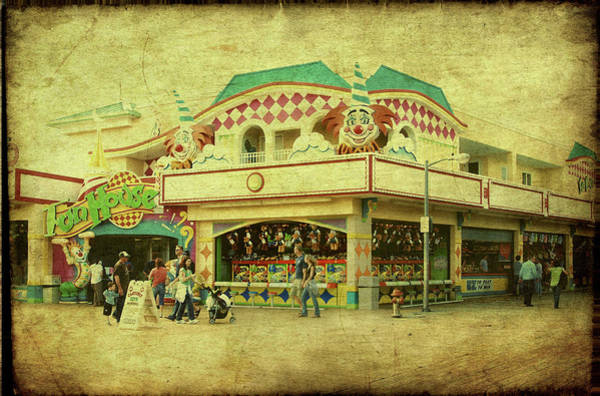 Down The Shore Photograph - Fun House - Jersey Shore by Angie Tirado