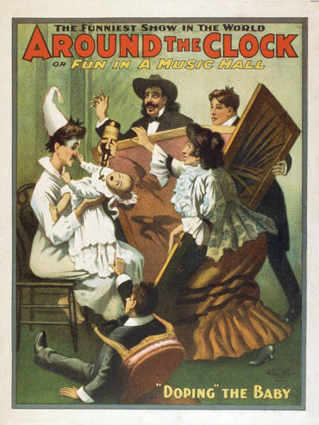 Mixed Media - Fun In A Music Hall 1907 by Movie Poster Prints