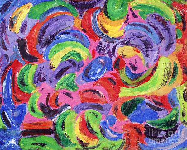 Painting - Fun In The Park by Sarahleah Hankes