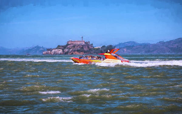 Photograph - Fun On San Francisco Bay by John M Bailey