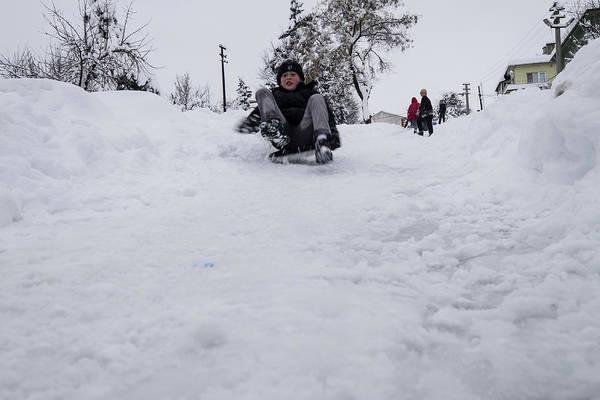Photograph - Fun On Snow-3 by Okan YILMAZ