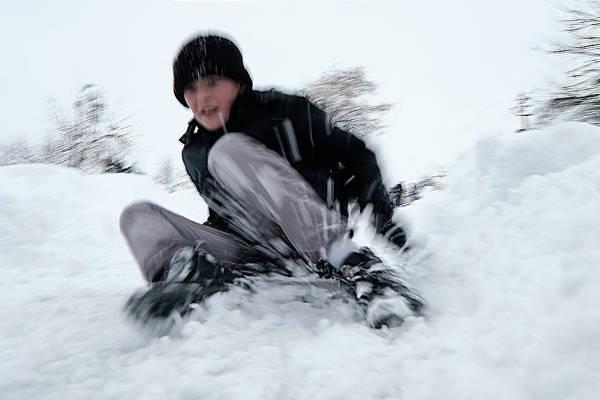Photograph - Fun On Snow-4 by Okan YILMAZ
