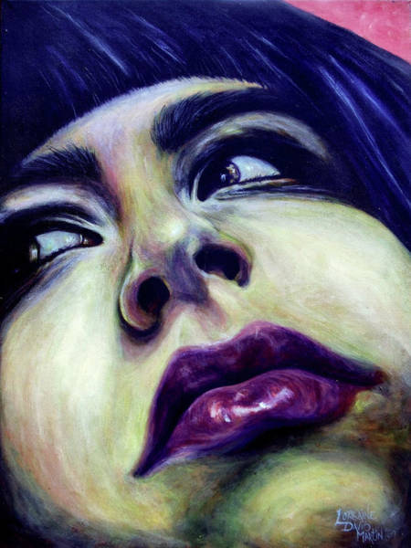 Wall Art - Painting - Funk Face by Lorraine Davis Martin