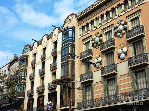 Photograph - Funky Barcelona by John Rizzuto