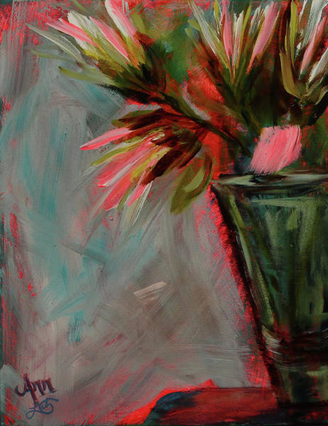 Wall Art - Painting - Funky Flowers by Ann Lutz
