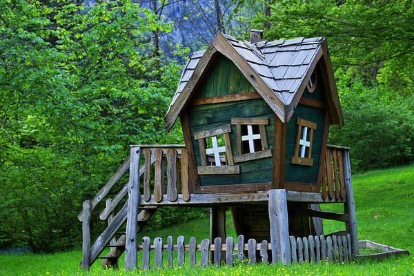 Photograph - Funky Playhouse by Ivan Slosar