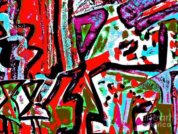 Painting - Funky Pop-11 by Katerina Stamatelos