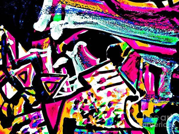 Painting - Funky Pop-13 by Katerina Stamatelos