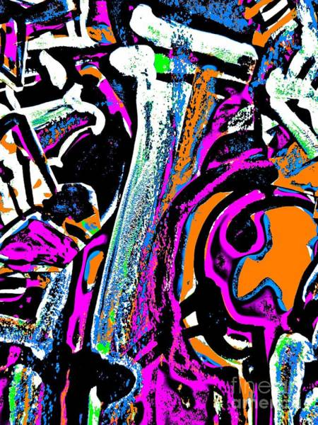 Painting - Funky Pop-14 by Katerina Stamatelos