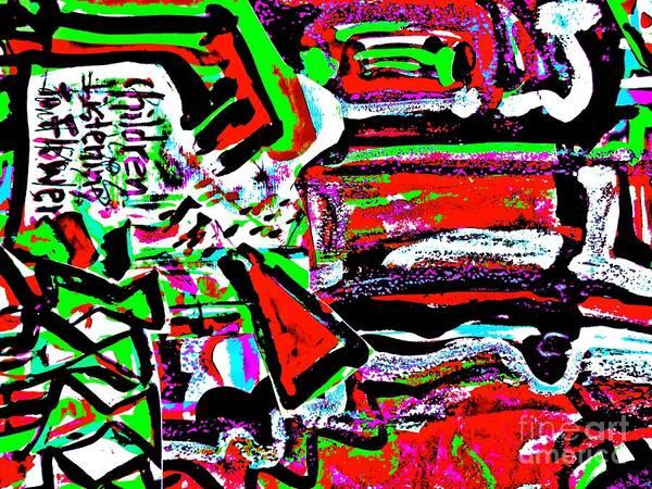 Painting - Funky Pop-17 by Katerina Stamatelos