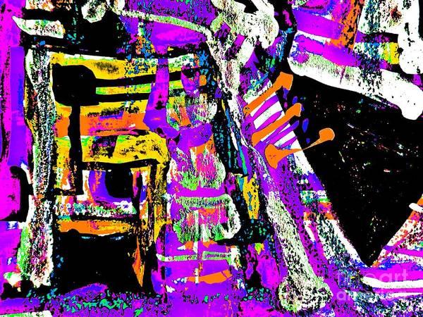 Painting - Funky Pop-19 by Katerina Stamatelos