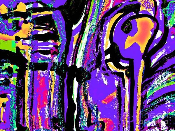 Painting - Funky Pop-2 by Katerina Stamatelos