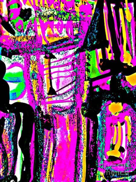 Painting - Funky Pop-20 by Katerina Stamatelos