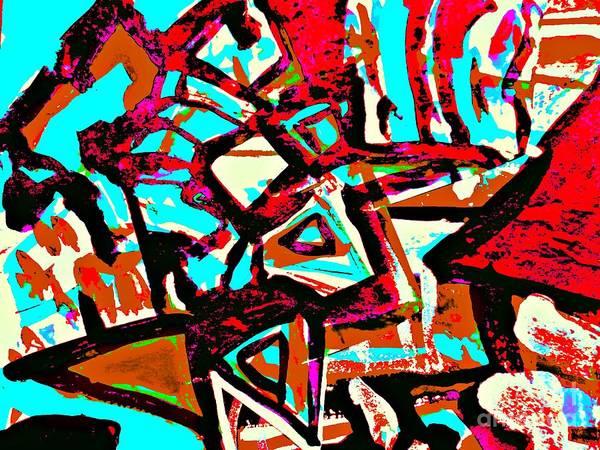 Painting - Funky Pop-6 by Katerina Stamatelos
