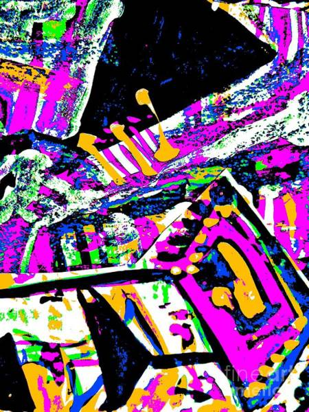 Painting - Funky Pop-7 by Katerina Stamatelos