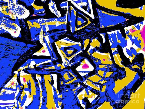 Painting - Funky Pop-8 by Katerina Stamatelos