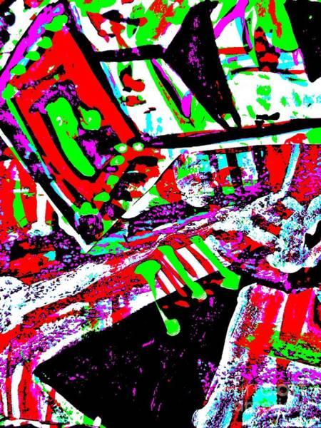 Painting - Funky Pop-9 by Katerina Stamatelos