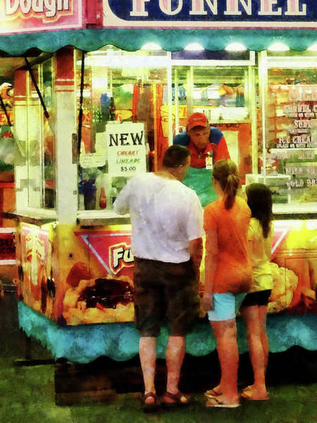 Photograph - Funnel Cake by Susan Savad