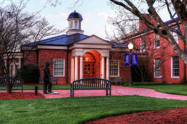Photograph - Furman University Hartness Welcome Center  by Carol Montoya