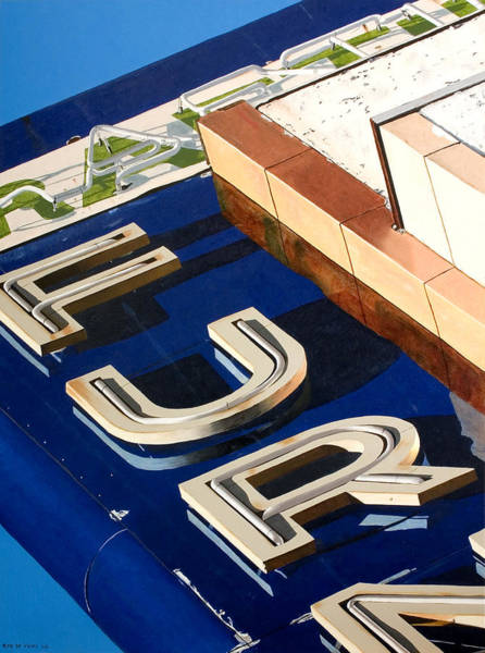 Neon Sign Painting - Furn by Rob De Vries