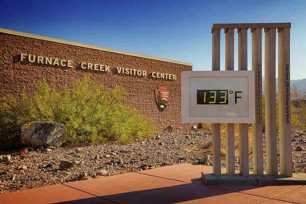 Furnace Creek Photograph - Furnace Creek by Ricky Barnard