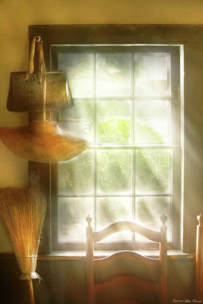 Photograph - Furniture - Window - House Wife  by Mike Savad