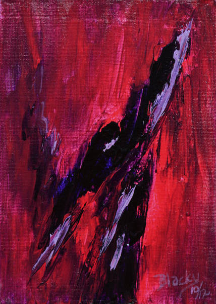 Wall Art - Painting - Fury by Donna Blackhall