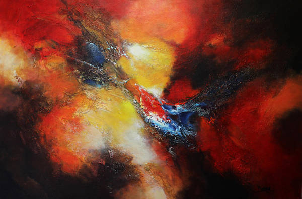 Wall Art - Painting - Fury by Patricia Lintner