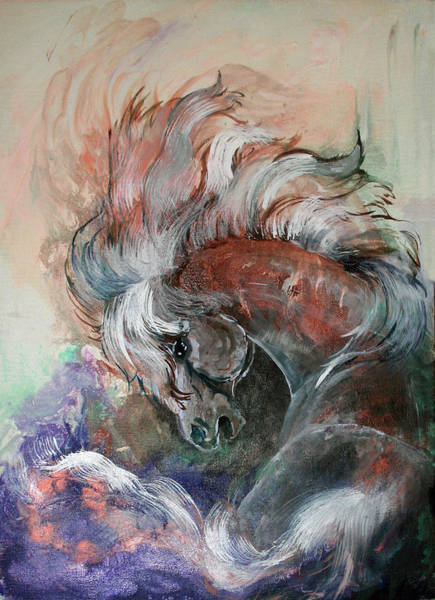 Painting - Fury by Sherry Shipley