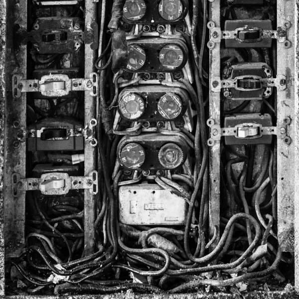 Photograph - Fuse Box by Mike Evangelist