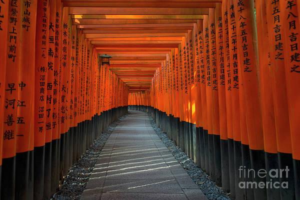 Kansai Region Wall Art - Photograph - Fushimi Inari Taisha Shrine In Kyoto, Japan by Ivan Batinic