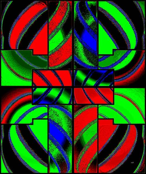 Wall Art - Digital Art - Fusion Design 3 by Will Borden