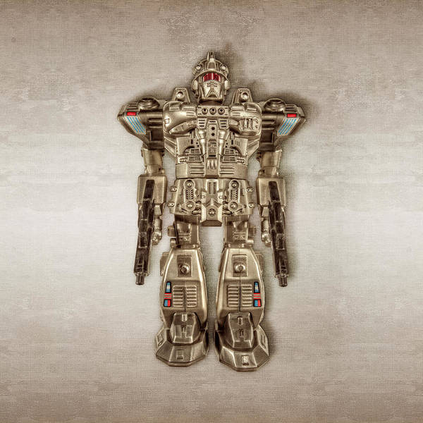 Atomic Photograph - Future Cop Robot by YoPedro