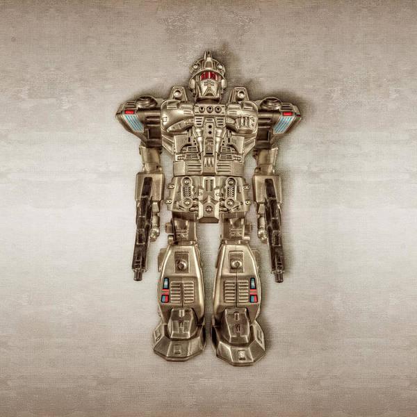 Wall Art - Photograph - Future Cop Robot by YoPedro