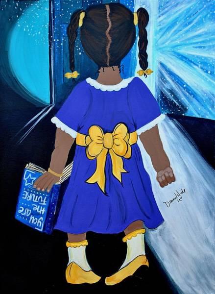 Painting - Future by Diamin Nicole