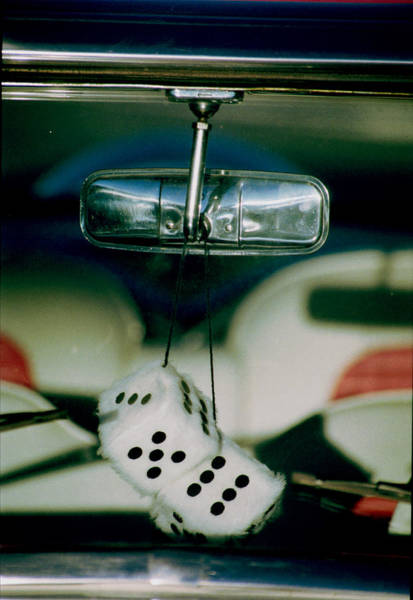 Photograph - Fuzzy Dice  by Richard Henne