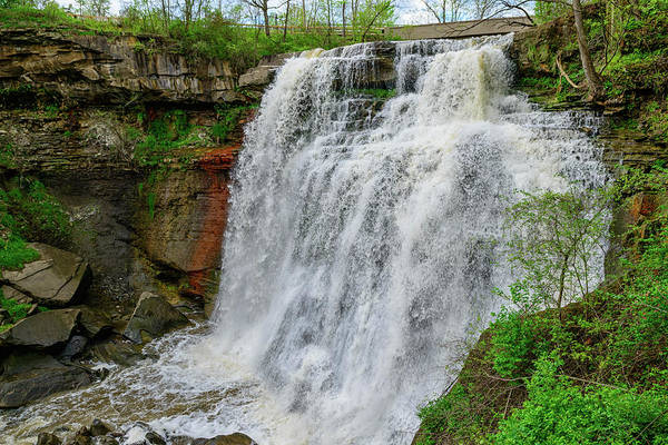 Photograph - Fx30a-153 Brandy Wine Falls by Ohio Stock Photography