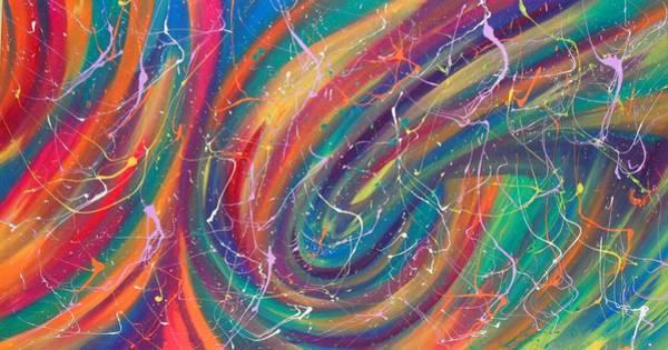 Painting - Fyrworx by Cyryn Fyrcyd