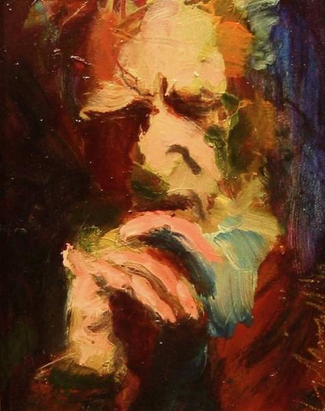 Painting - G B S by Les Leffingwell